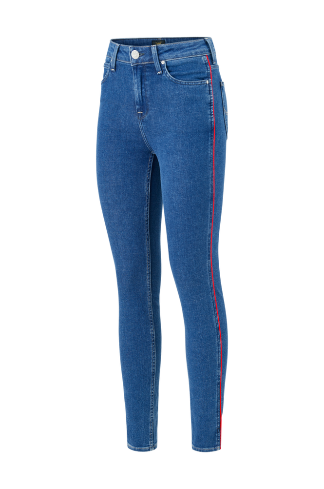 Lee Jeans Scarlett Piping High Waist Skinny
