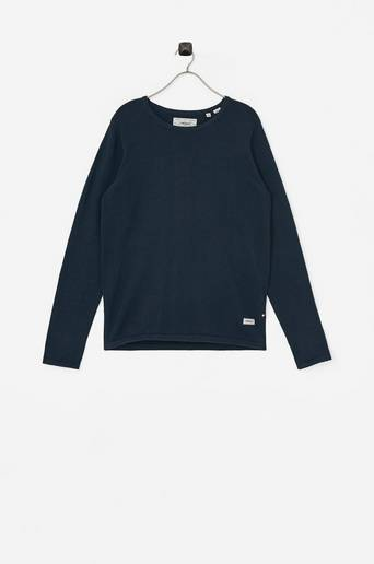 Neulepusero Basic Crew Neck Knit