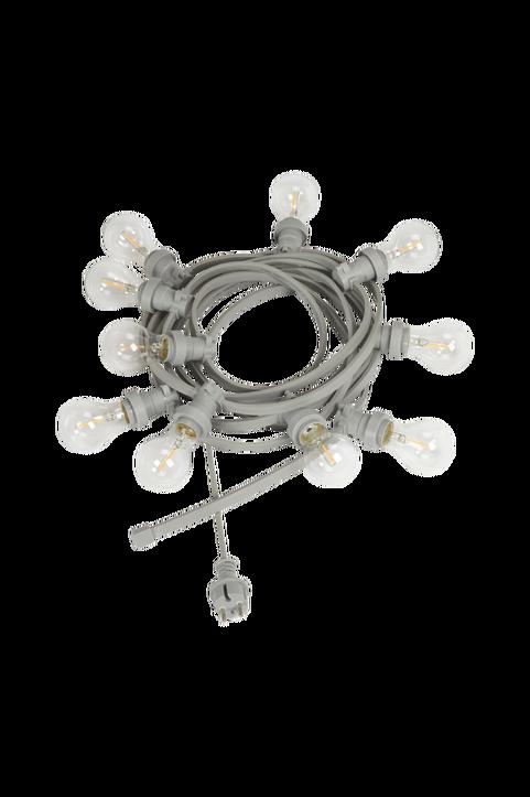 Ljusslinga Bright light string med klara ljuskällor, 7 m