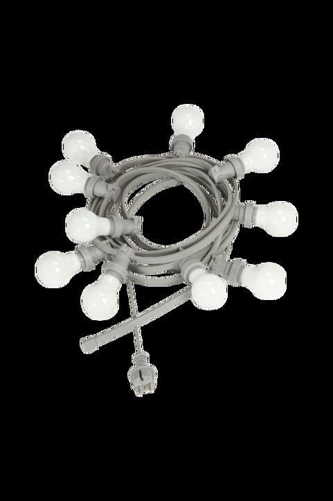 Ljusslinga Bright light string med opala ljuskällor, 7 m