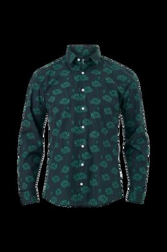 Kauluspaita Flower Snake Print Shirt L/S