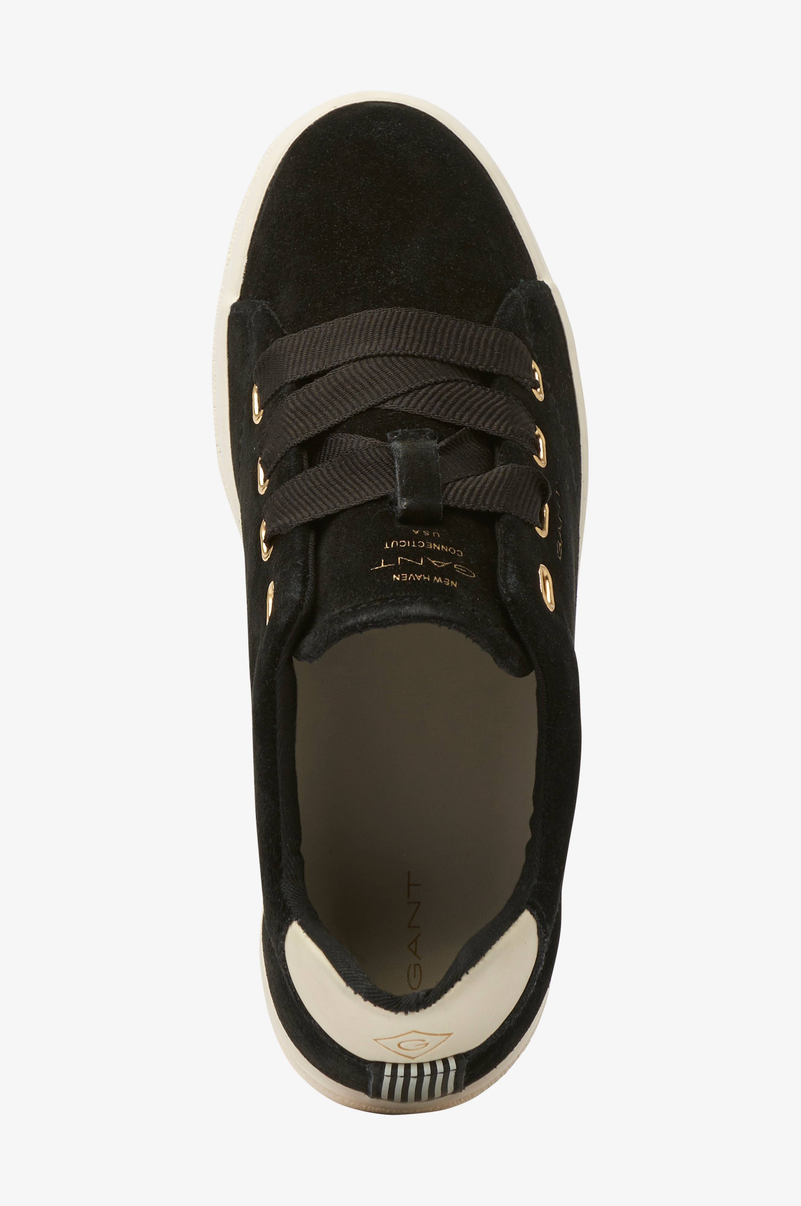 Gant Sneakers Aurora Low Lace Svart Dame Ellos.no