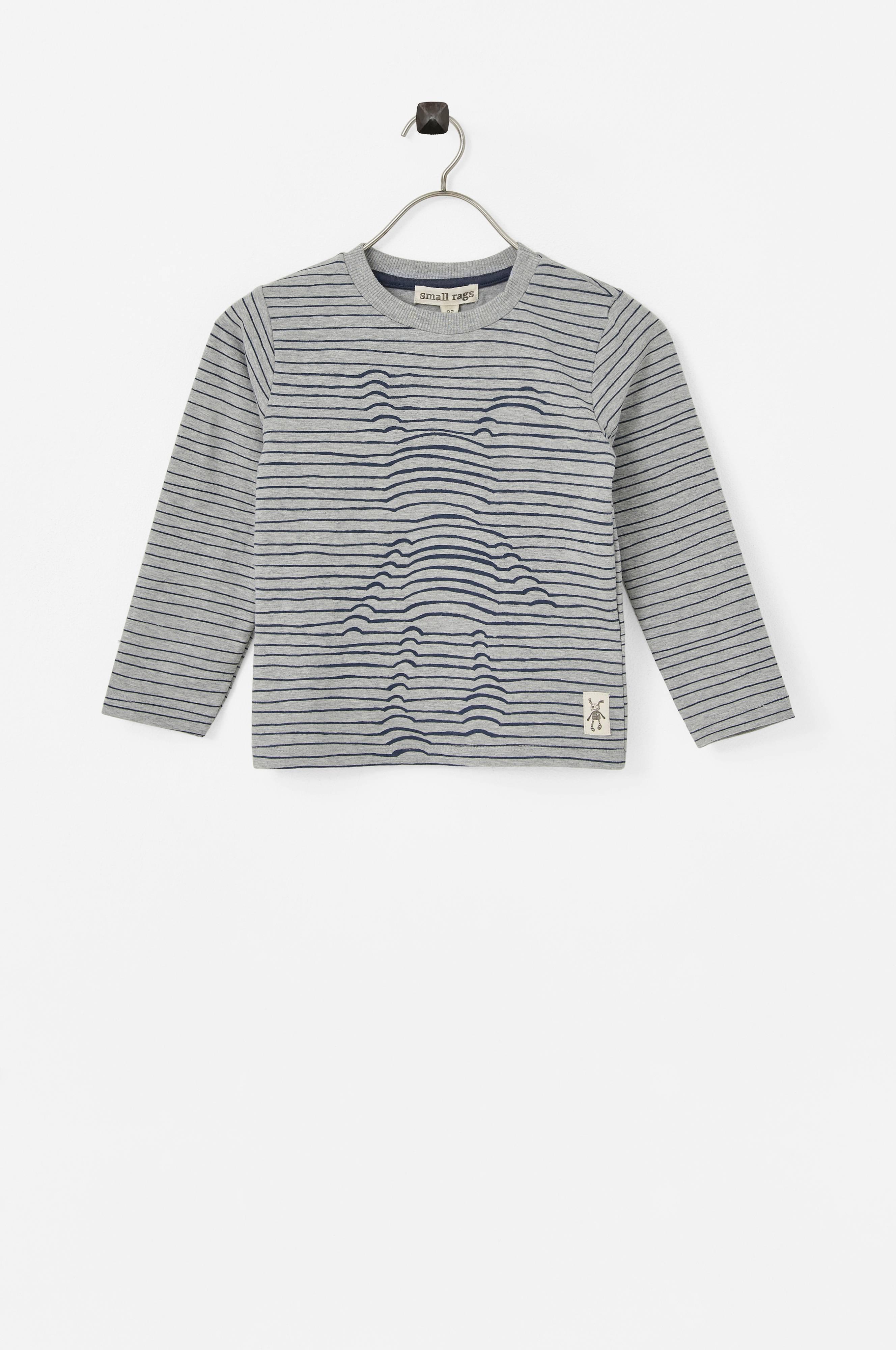 Small Rags Långärmad t shirt Grå Babytröjor Ellos.se