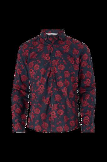 Kauluspaita Floral Print Shirt L/S