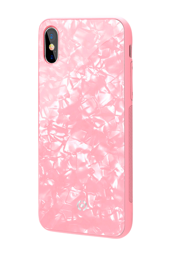 Pearl cover iPhone X Roosa