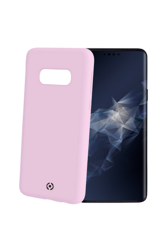 Soft-touch cover Galaxy S10e Roosa