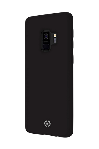 Soft-touch cover Galaxy S9 Musta