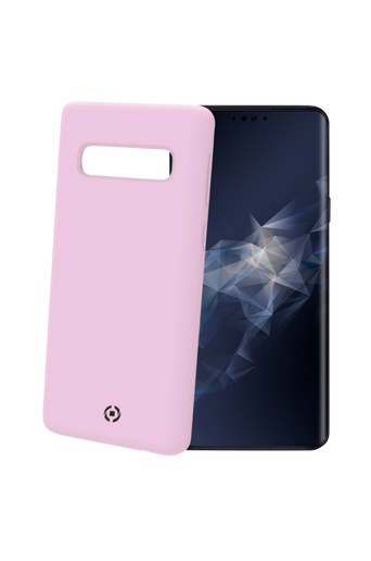 Soft-touch cover Galaxy S10 Roosa