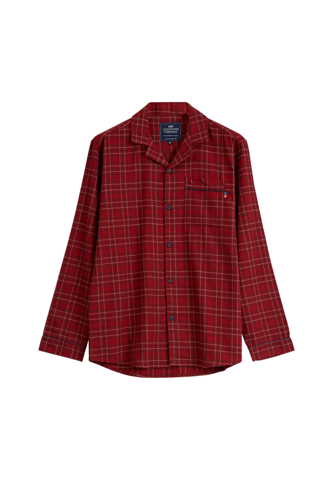 Lexington Pyjamas Unisex Checked Flannel