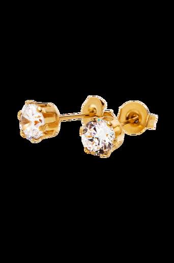 Korvakorut Crown Studs Gold