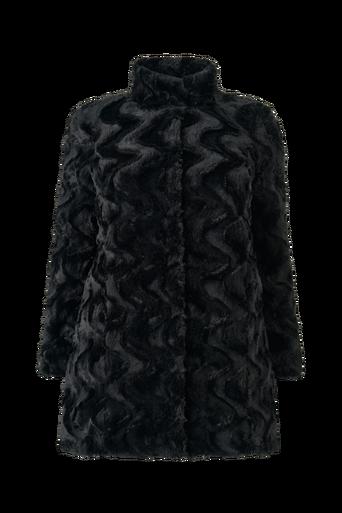 Tekoturkistakki vmCurl High Neck Faux Fur Jacket
