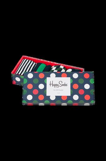 Lahjapakkaus Holiday Big Dot Gift Box, 4 paria sukkia