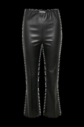 Housut SLKaylee PU Kickflare Pants