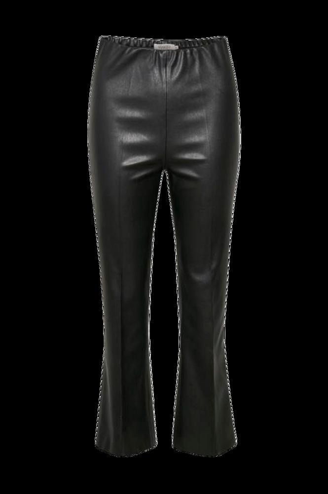 Soaked in Luxury Bukser SLKaylee PU Kickflare Pants
