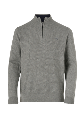 Neulepusero Structured Half Zip Knit