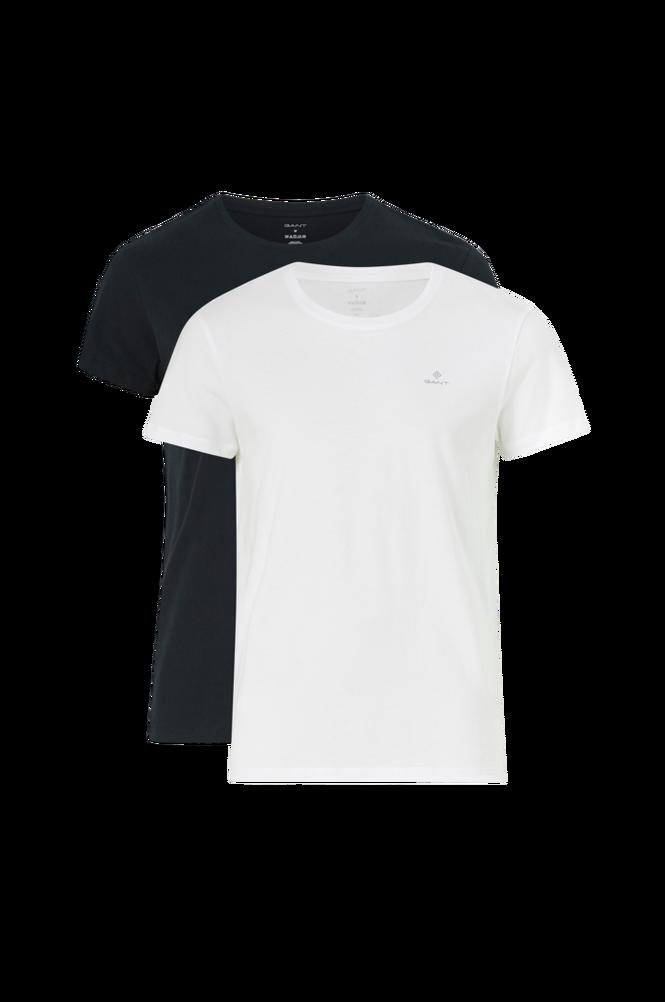 Gant T-shirt Basic Crew Neck 2-pak