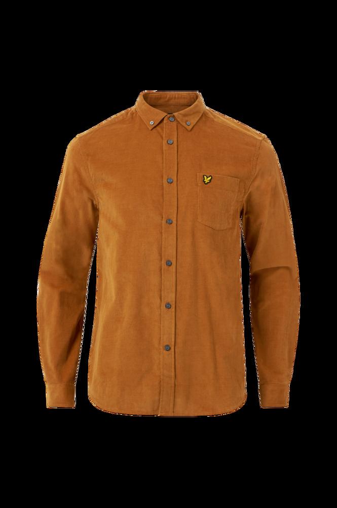 Se Lyle & Scott Skjorte Baby Cord Shirt ved Ellos