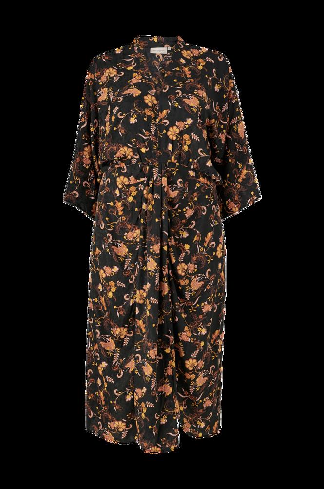 Only Carmakoma Kjole carRetroTapestry 3/4 Calf Dress