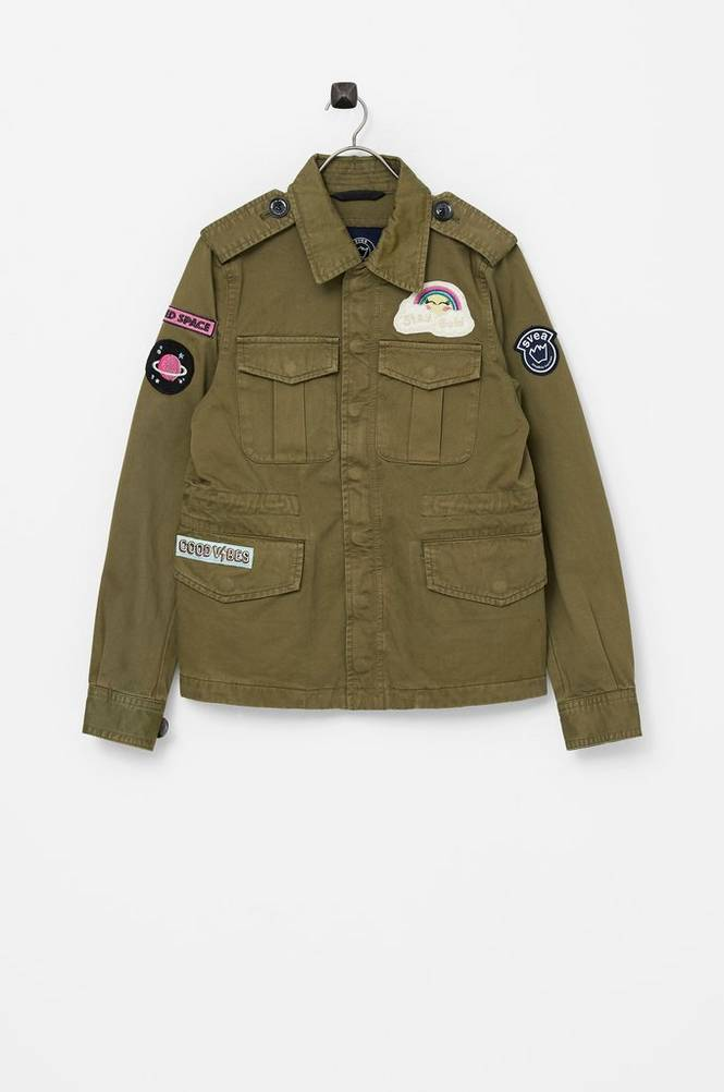 Svea Jakke K. Army Jacket
