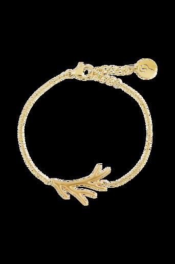 Branch Bracelet Matt Gold