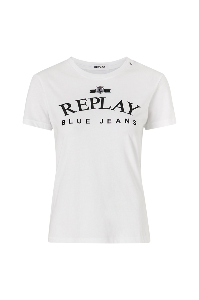 Replay Top med logoprint