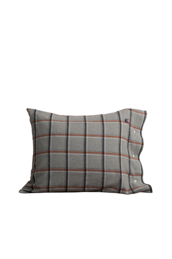 Checked Flannel Pillowcase,