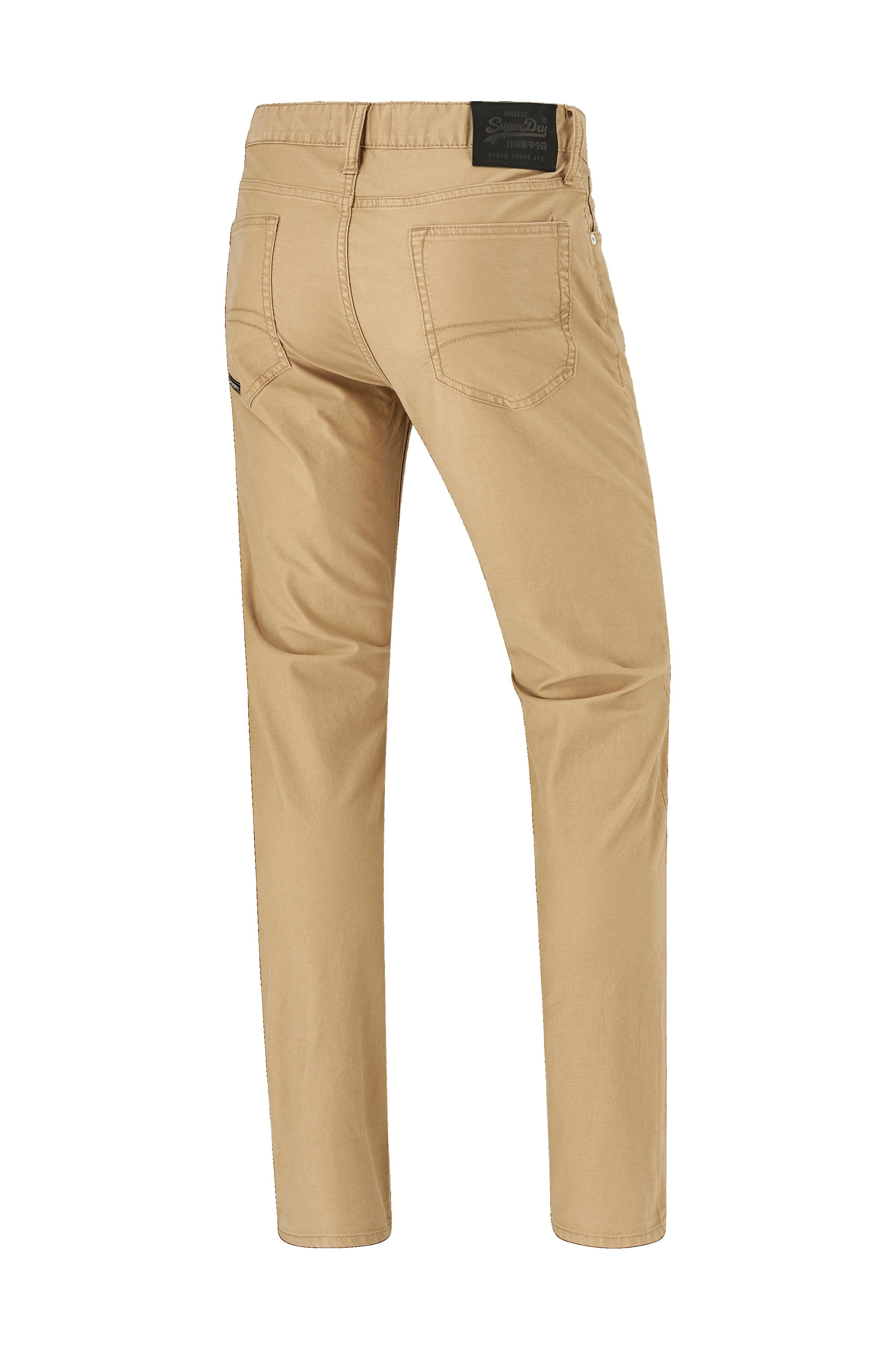 Superdry Jeans Edit Tyler Slim Dbl Dye Twills - Brun - Herr