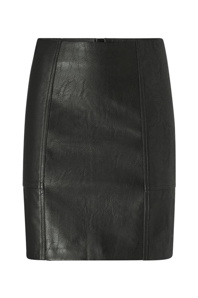 Only Nederdel onlSky Faux Leather Skirt