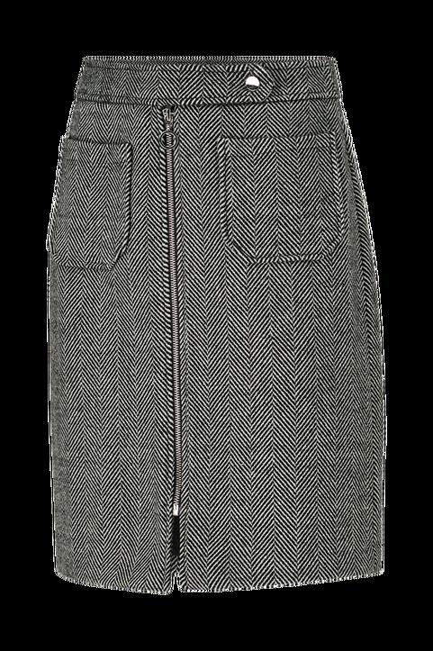 Kjol vmToya HW Herringbone Skirt