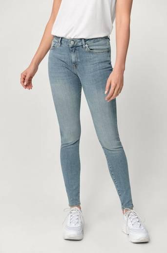 Farkut slfIda MW Skinny Mid Blue Jeans