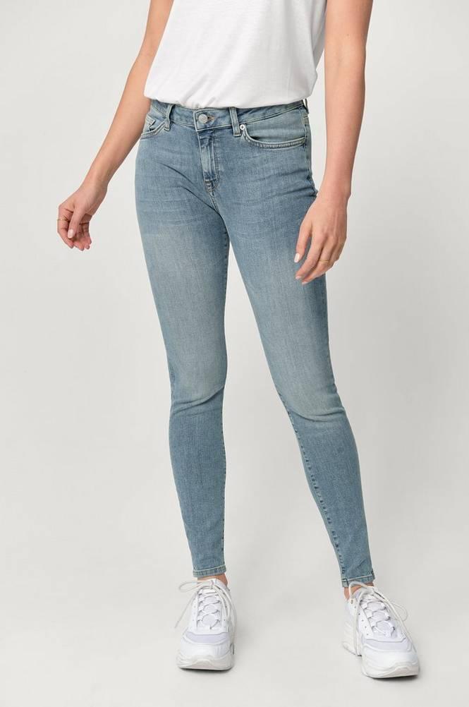 Selected Femme Jeans slfIda MW Skinny Mid Blue Jeans