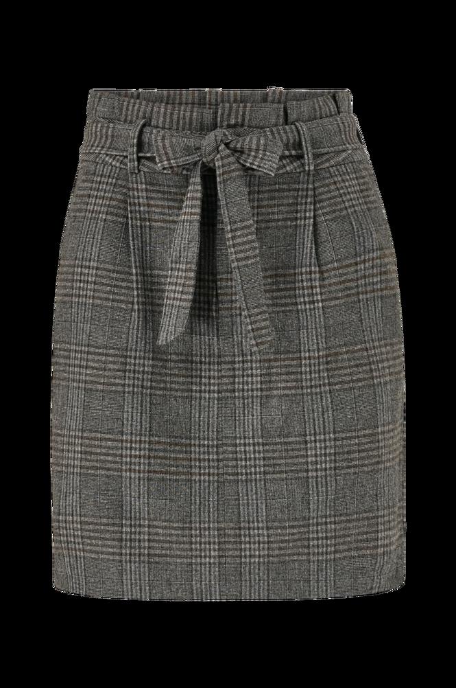 Vero Moda Nederdel vmEva HR Paperbag Short Check Skt