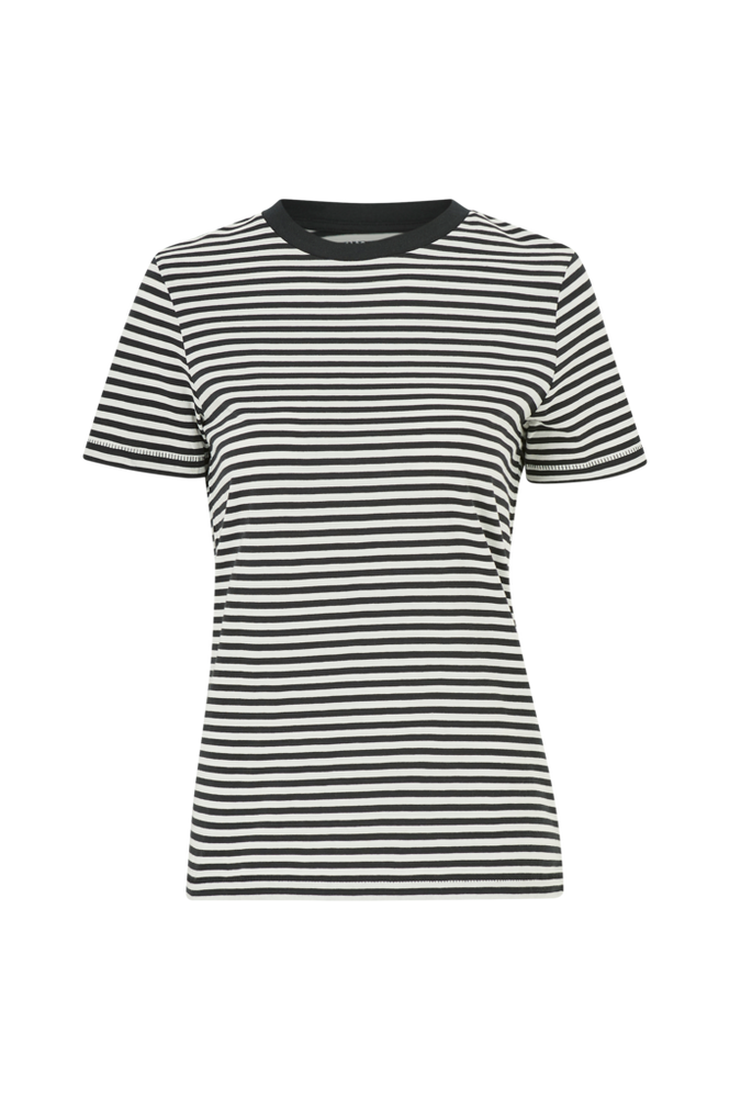 Selected Femme Top slfMy Perfect SS Tee Box Cut Stri