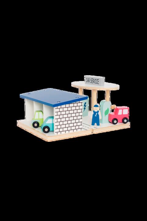 Bensinstation med Garage
