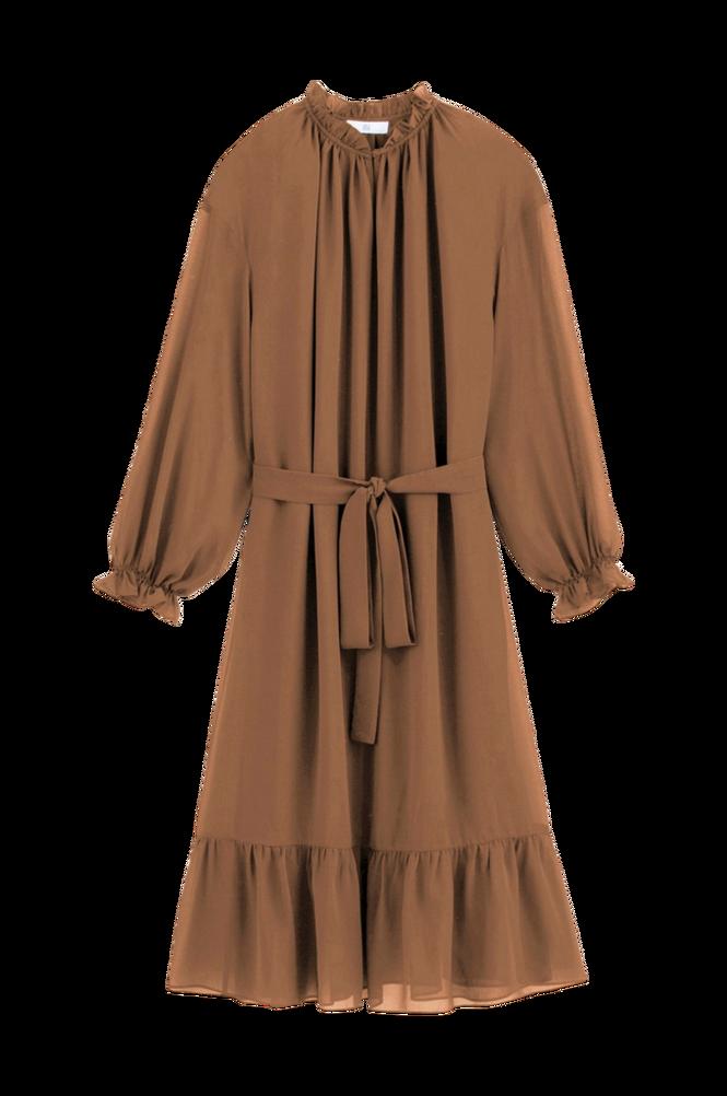 La Redoute Kjole med flæsekant og langt ærme