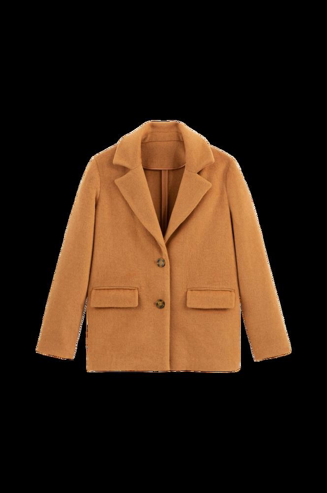 La Redoute Varmende jakke med krave med revers