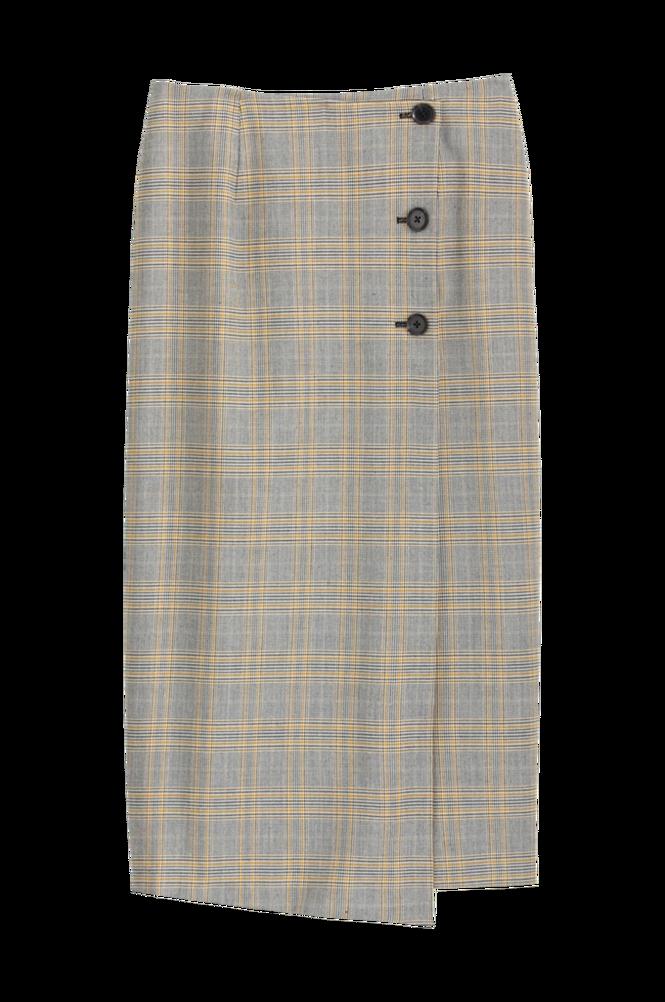 La Redoute Ternet nederdel i lige, halvlang model