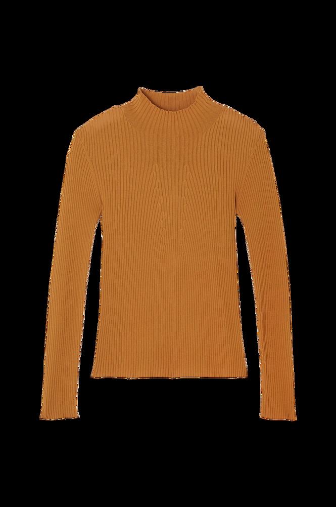 La Redoute Ribstrikket trøje med høj krave