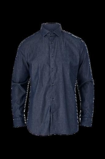 Kauluspaita slhRegsel-Rowan Shirt LS Denim B