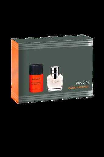 Lahjapakkaus Van Gils Basic Instinct Eau de Toilette 40 ml / Stick 75 ml