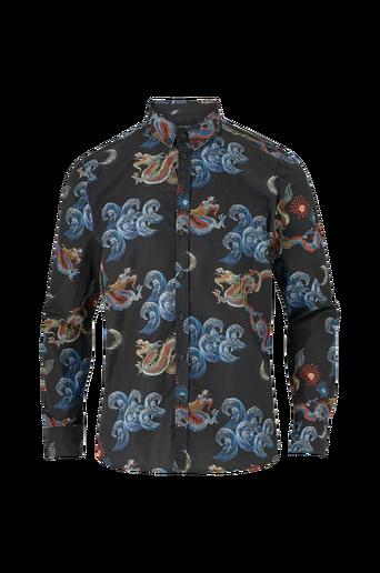 Kauluspaita Brooks Dragon Black Shirt LS