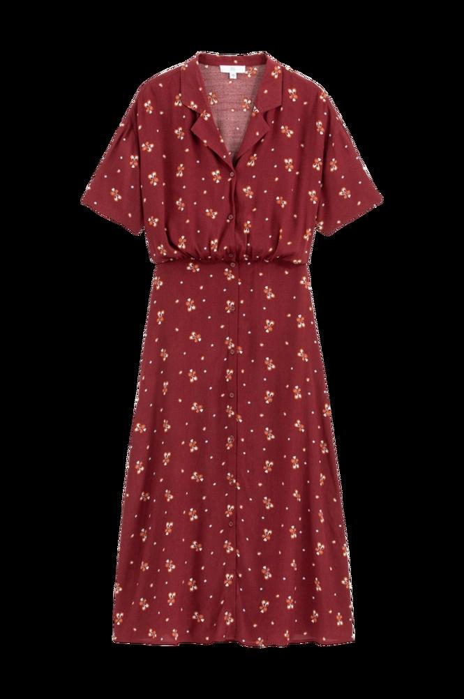 La Redoute Lang, mønstret skjortekjole