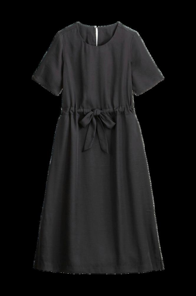 La Redoute Lige, lang kjole med kort ærme