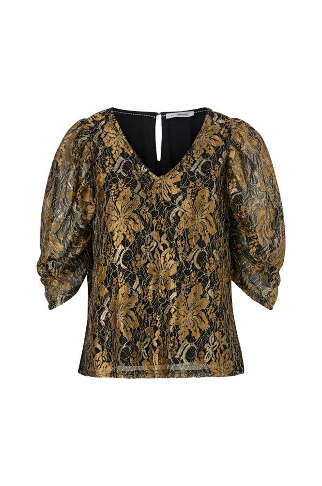 co'couture Top Turner Lace Blouse