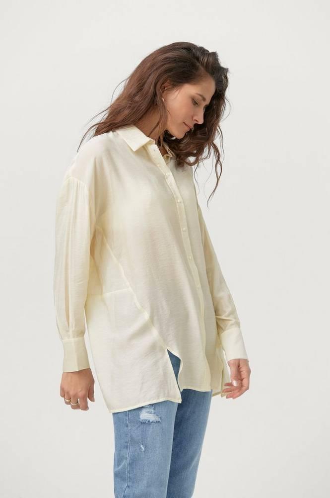 Soaked in Luxury Lang skjorte slMarla Shirt LS