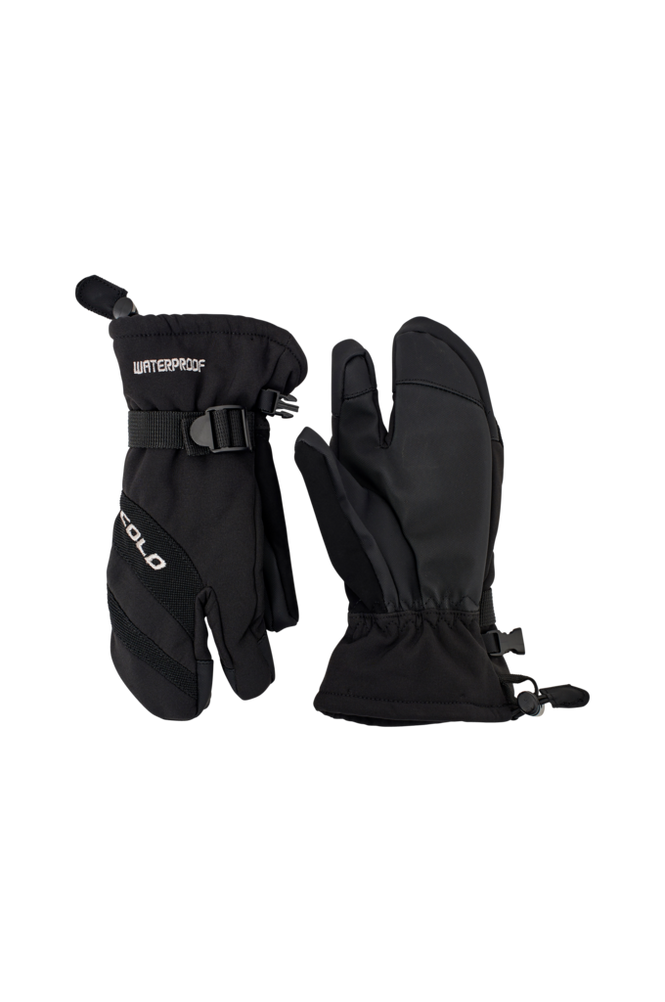 Cold Skihandsker 3-Finger Ski Gloves Junior