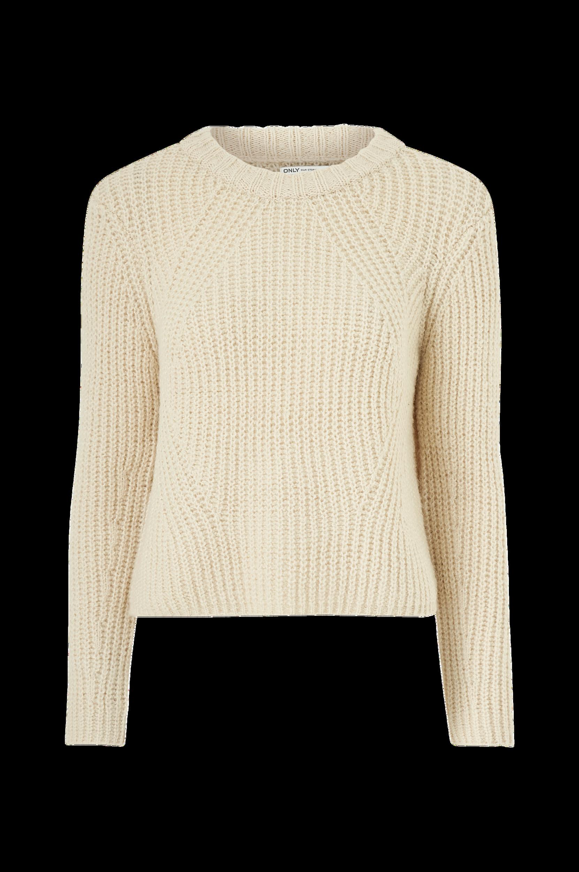Only - Tröja onlFiona L/S Pullover - Natur