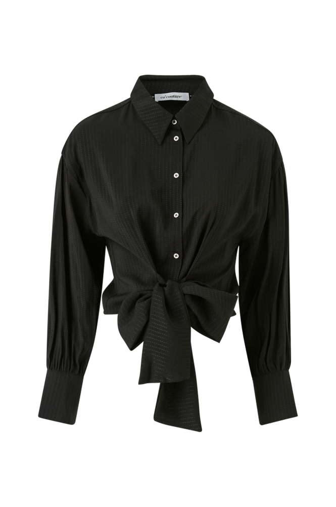 co'couture Bluse Remi Band Tie Shirt
