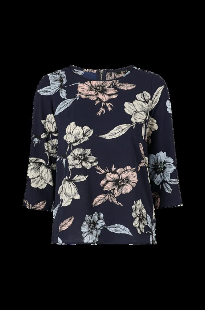 Only Bluse onlNova Lux Aop 3/4 Sleeve Top