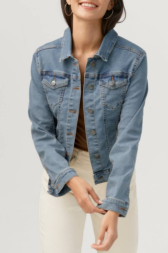 Saint Tropez Denimjakke AlisonSZ Denim Jacket